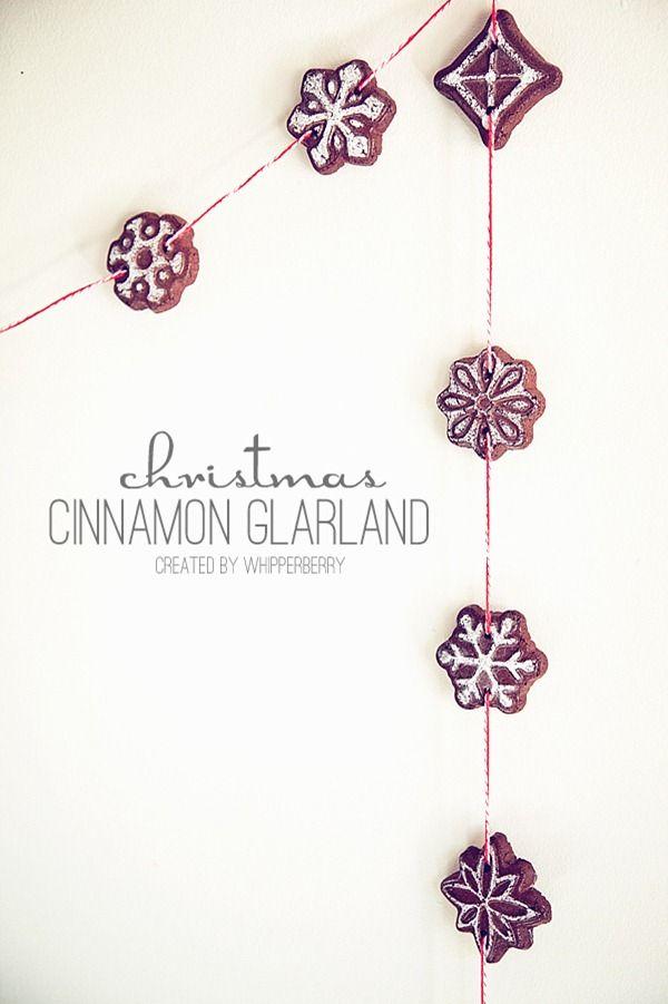 Christmas cinnamon garland