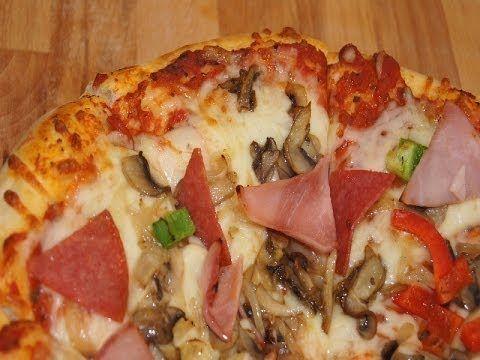 Jak zrobić pyszną chrupiącą Pizze. Przepis!!! - YouTube