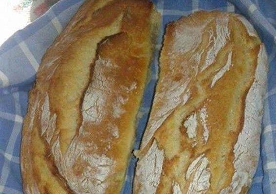 Συνταγή για ψωμί χωρίς ζύμωμα