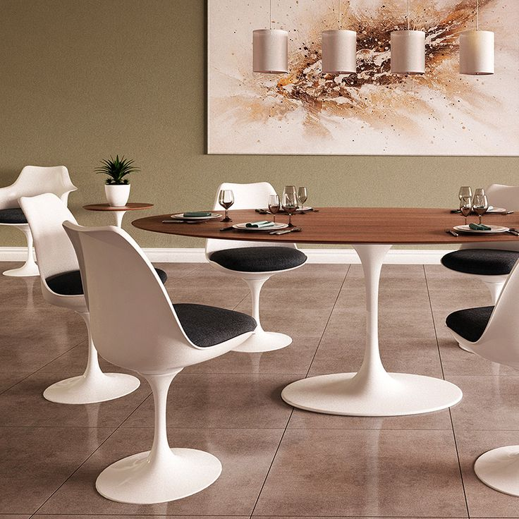 Inspired By One Of The 20th Centuryu0027s Most Iconic Collections, The Saarinen Oval  Dining Table