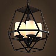Top level American Village Vintage black Iron Lamp, Modern Chandelier Chandelier, 4 lights – AUD $ 353.20