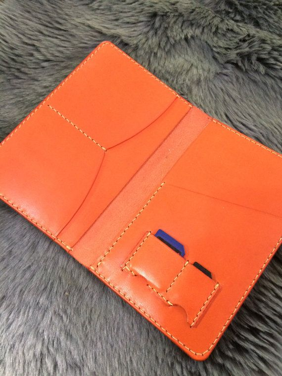 Leather Passport Wallet Passport case leather by ReverLeather
