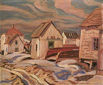 JACKSON, A.Y. (1882-1974) Canadian artist ~