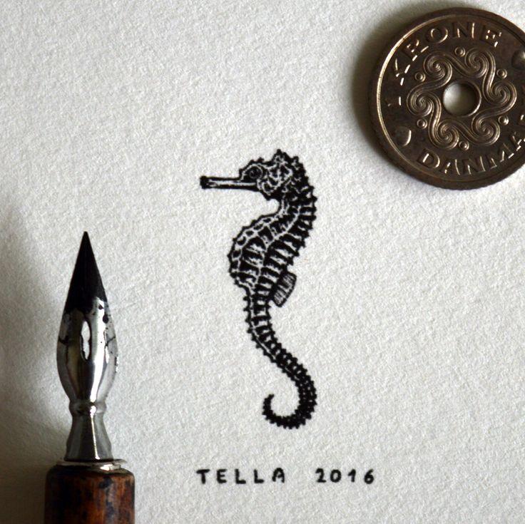 Mořský koník (miniatura)  Seahorse