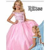 Ritzee Girls  Cinderella Organza 7366 Pageant Dress