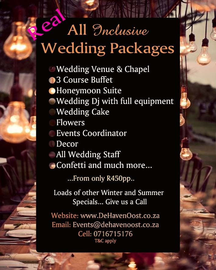 Wedding Venues, Wedding Venues Pretoria