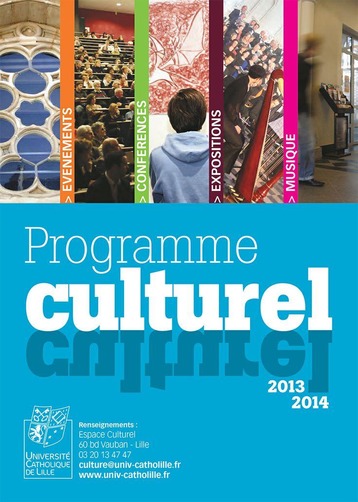 programme culturel à l'Université Catholique de Lille 2014