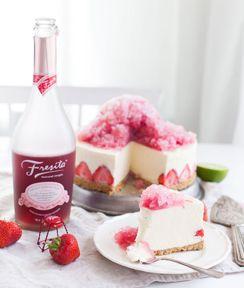 Jäädytetty vaniljajuustokakku ja Fresita & Limegranité - Jälkiruoat - Viinimaa