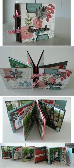Mini album accordéon - tutoriel Plus