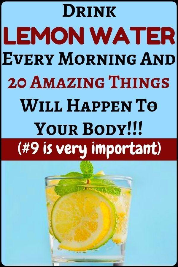 Wenn Sie jeden Morgen warmes Detox-Zitronenwasser …