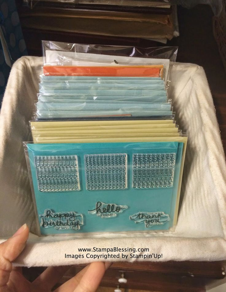 Stamp a Blessing: Paper Pumpkin Love & Organizing my Stamps - tips on organizing your pumpkin stamps
