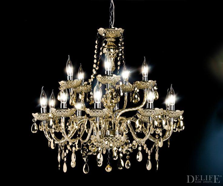 #Kronleuchter Karat 80x75 Cm In Gold  Sei Doch Mal #Luxus, Baby!