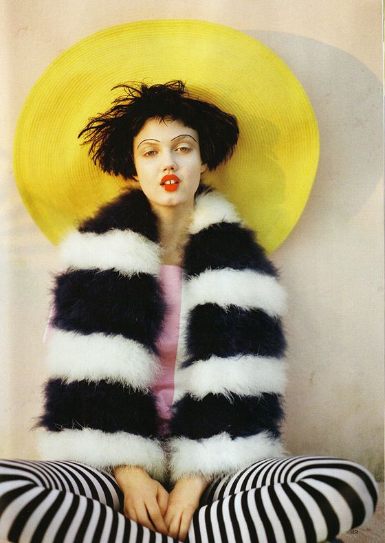 Vogue UK | April 2011 | The Right Lines | Photographed by - Tim Walker | Styled by - Kate Phelan