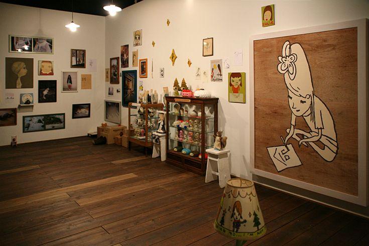 《2011年7月の僕のスタジオから / 水戸での展示を経由して2012年7月の横浜へ》 2006-2012 © NARA Yoshitomo