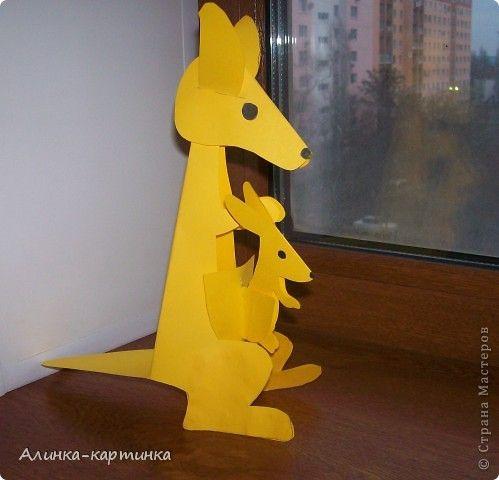 kangoeroe knutselen met kleuters