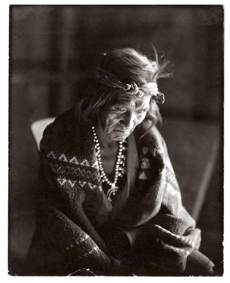 navajo woman, the pennington studio, durango, colorado