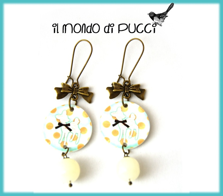 Il mondo di Pucci: ♥ Orecchini BAMBI