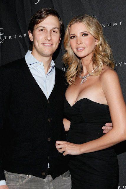 American businesswoman, Ivanka Trump and her husband, Jared Kushner...
