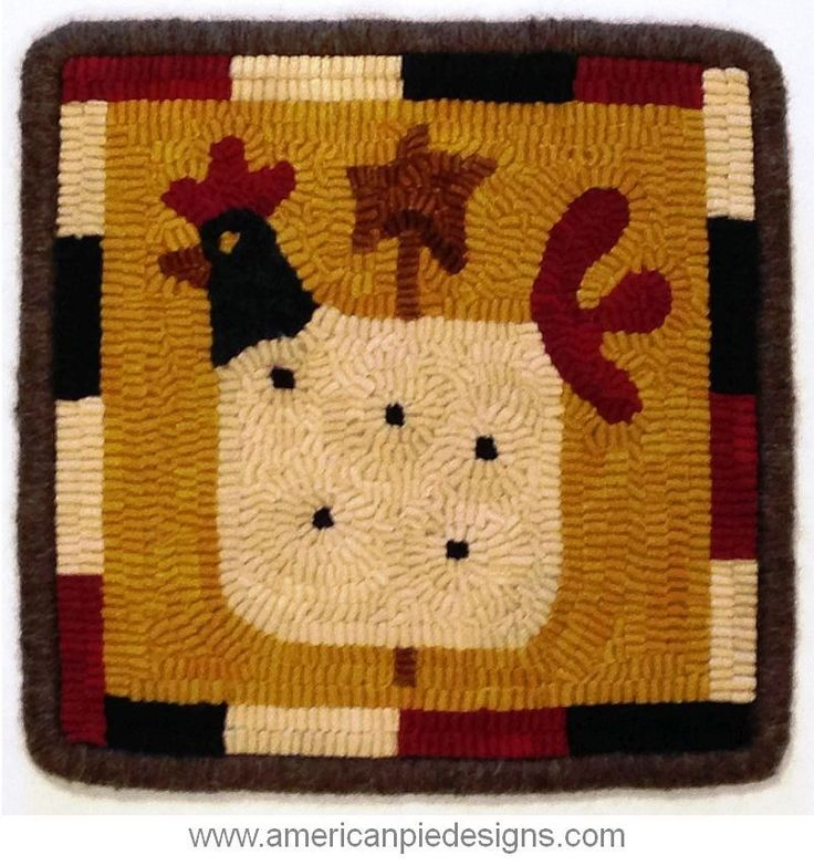 17 Best Images About Rug Hooking On Pinterest