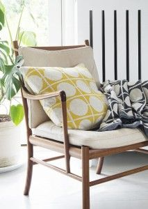 "Scandi goodness with our ""Don"" range of cushions and blankets"