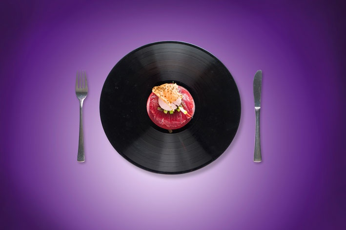 Oseven happening and food - Tuna vinyl