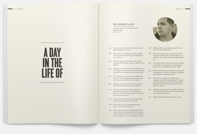 :: A day in the life of... ::