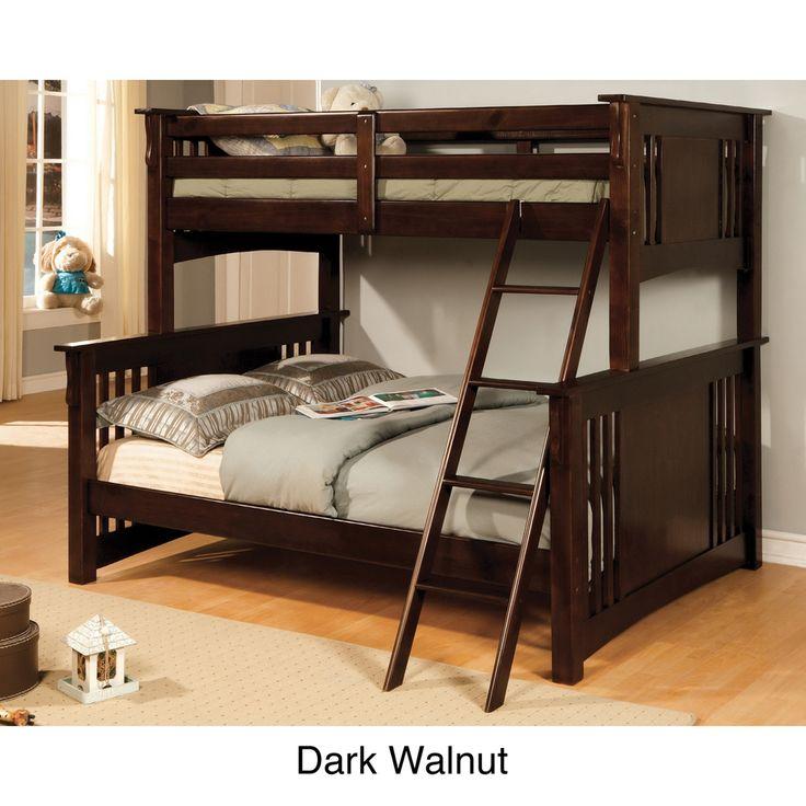 Best 25 Twin Full Bunk Bed Ideas On Pinterest: 25+ Best Ideas About Full Size Bunk Beds On Pinterest