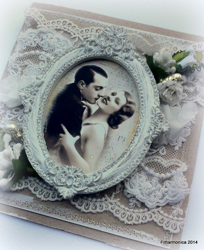 Live & Love Crafts' Inspiration and Challenge Blog: Love and Lace