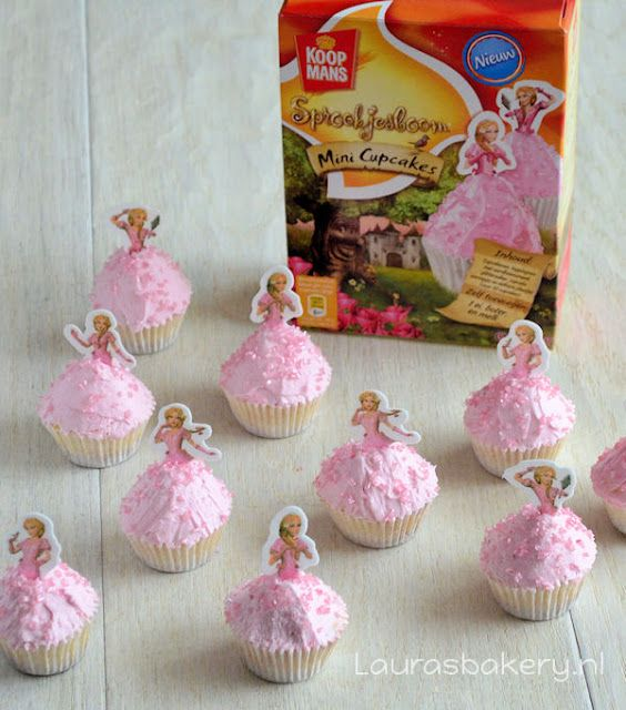 Review Sprookjesboom Mini Cupcakes - Laura's Bakery