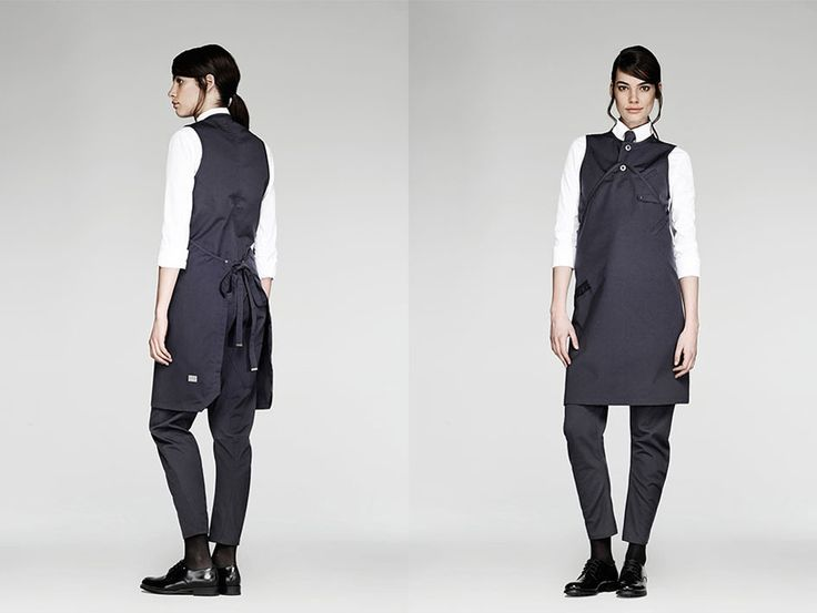 The Jane Restaurant in Antwerp, Staff Uniforms by G-Star RAW | http://www.yellowtrace.com.au/the-jane-antwerp-by-piet-boon/
