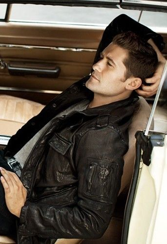 "Matthew Morrison - I almost pinned him to my ""Want!"" board!  LOL."