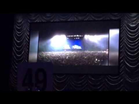 Vídeo: Presentacion en pantalla a Joan Manuel Serrat.
