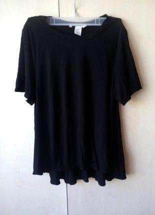 Kup mój przedmiot na #vintedpl http://www.vinted.pl/damska-odziez/bluzki-z-krotkimi-rekawami/11118358-czarna-nowa-koszulka-hm