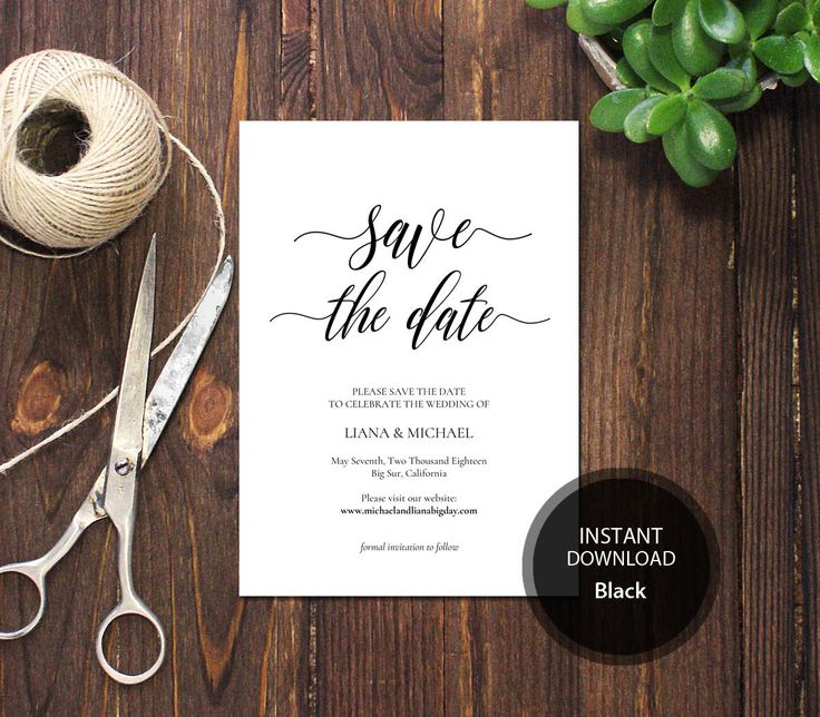 Best  Save The Date Digital Ideas On   Save The Date