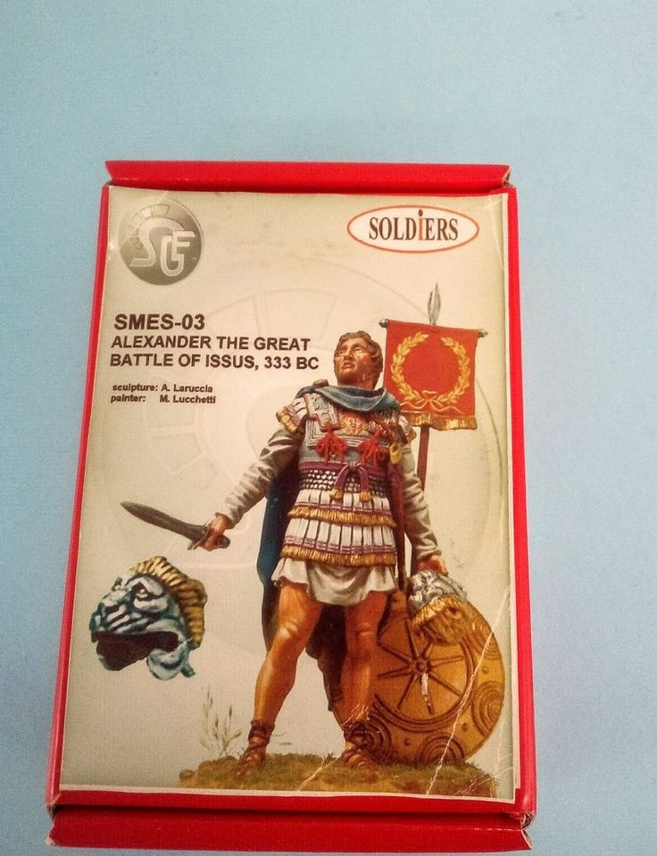 Alexander The Great Battle of Issus, 333 BC 54mm Soldiers