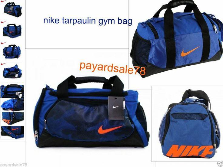 1eba6221 NIKE S DUFFEL DUFFLE BAG GYM BAG BA3170-468 TRAVEL SPORTS CAMO  #DuffleGymBag | gym bags | Pinterest | Nike bags, Gym Bag and Bags.