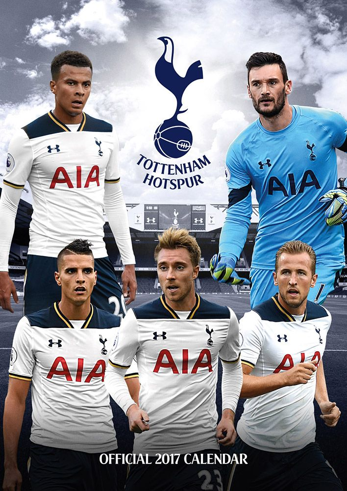 Official Tottenham Hotspurs 2017 Calendar now available for only £8.99 and Free UK Delivery (Worldwide Delivery also available) at http://bit.ly/FootballCals2017