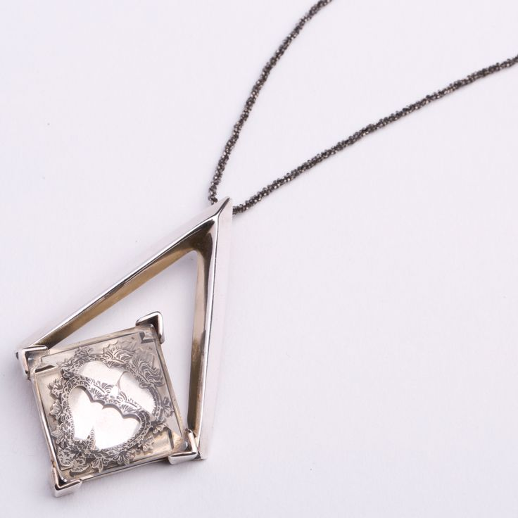 Entropia Silver Pendant - Shop pendants from Italy's best artisans: fine jewelry handcrafted in Italy - Fine Jewelry from Italy's Best Artisans - Artemest