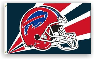 Buffalo Bills Official Flag by Buffalo. $17.95. BRASS GROMMETS. Premium Heavy Duty Polyester 3'x5' Flag. Vivid Colors. NFL LICENSED. DOUBLE STITCHED. BUFFALO BILLS OFFICIAL FLAG