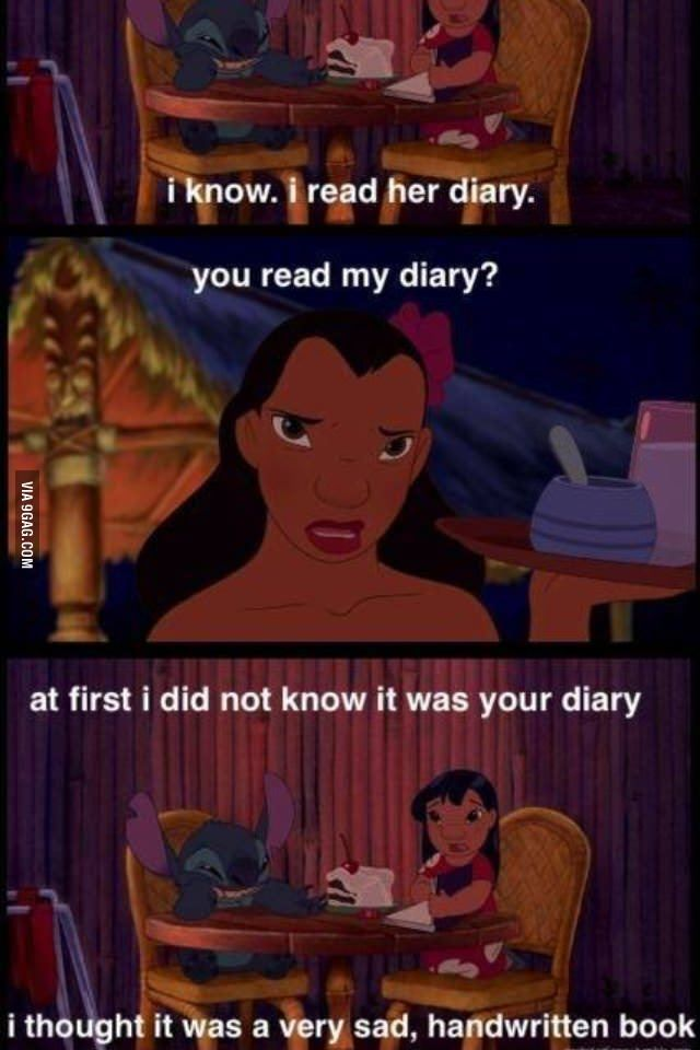 how to know if someone read your diary