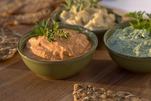 """Diaporama """"10 recettes saines et gourmandes à déguster sans modération"""" - Houmous originaux"""