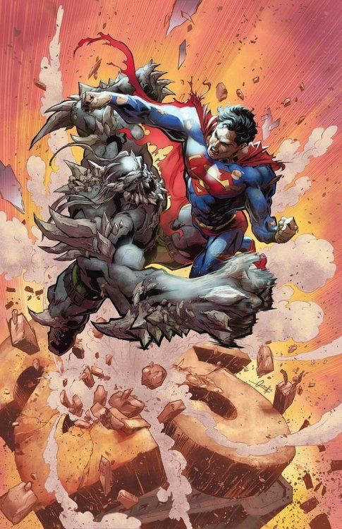 Doomsday vs Superman - Joel Ojeda Lopez
