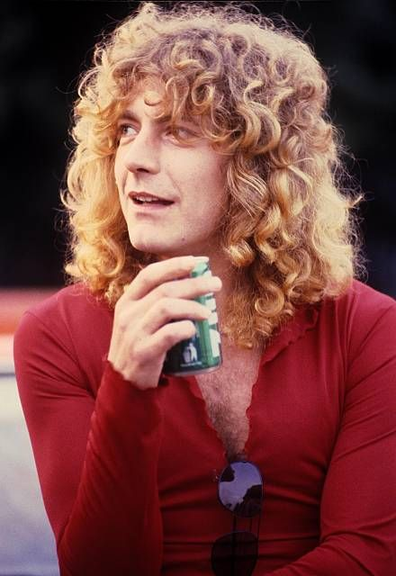Robert Plant of Led Zeppelin... the man has some great hair!