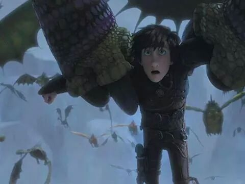 how to train your dragon fanfiction watching the movie