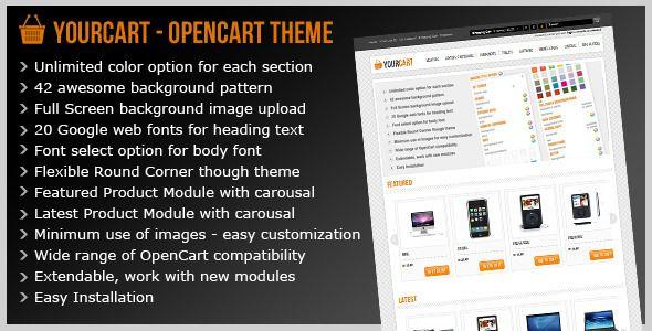 YourCart | Good customization, good looking | Demo: http://cartdeveloper.net/yourcart/ | Price : 25$