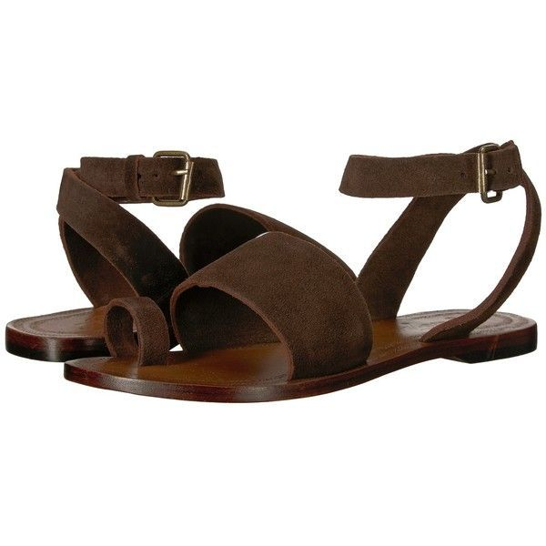 c0774e820c1 Free People Torrence Flat Sandal (Chocolate) Women s Sandals ( 68) ❤ liked  on
