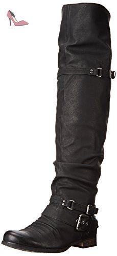 Ladola Dku01608, Plateforme femme - noir - noir,