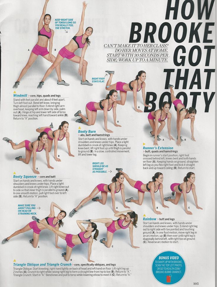 Brooke Burke Charvet in Health magazine.  www.brooklynfitchick.com