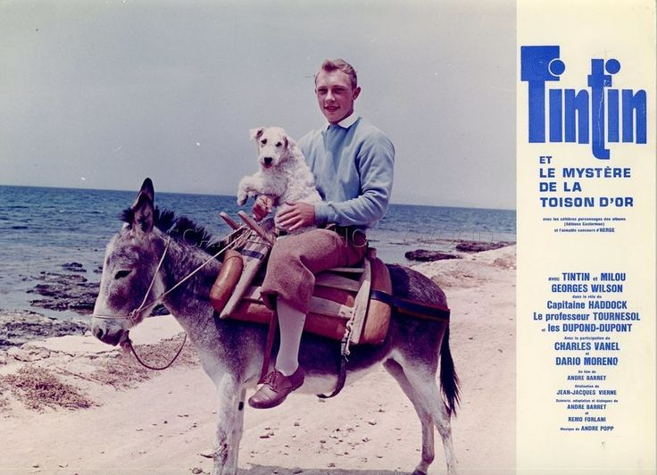 JEAN-PIERRE TALBOT TINTIN ET LE MYSTERE DE LA TOISON D OR 1961 PHOTO ORIGINAL #8