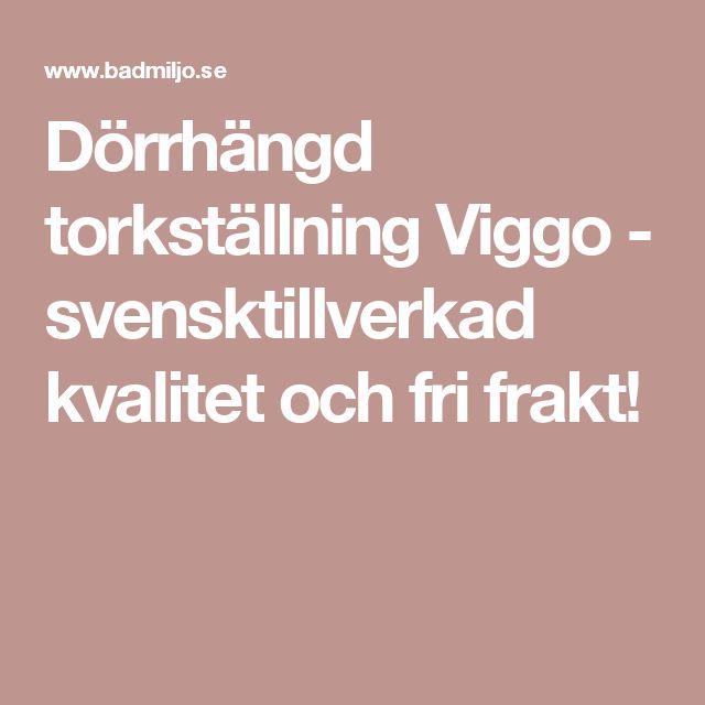 Dörrhängd torkställning Viggo - svensktillverkad kvalitet och fri frakt!